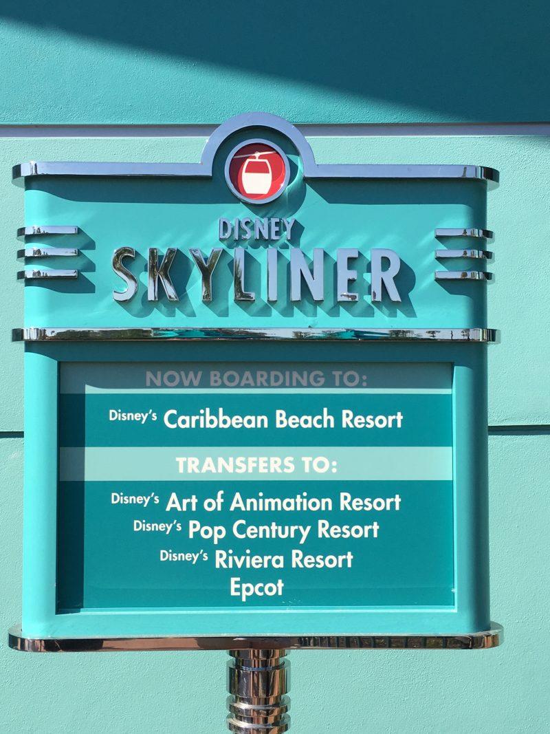 Skyliner signage