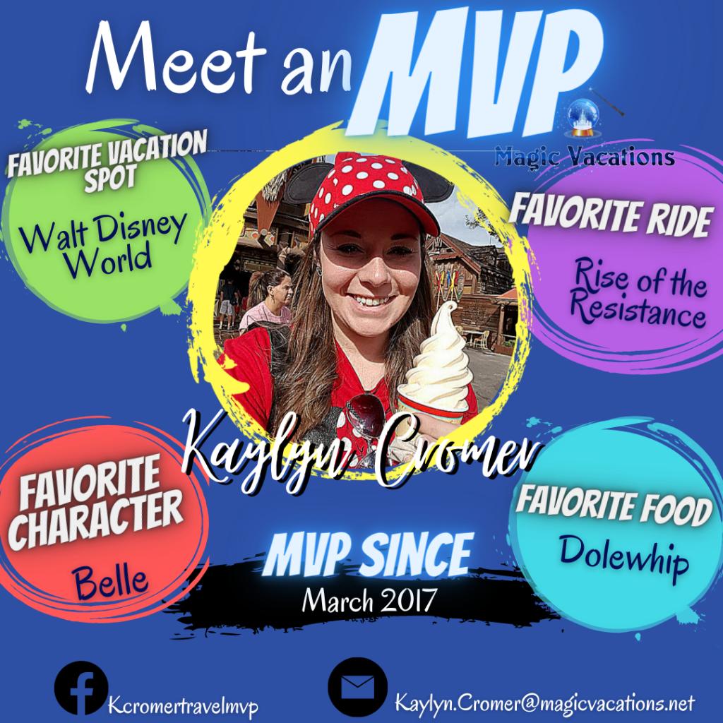 Kaylyn's Meet an MVP Infographic