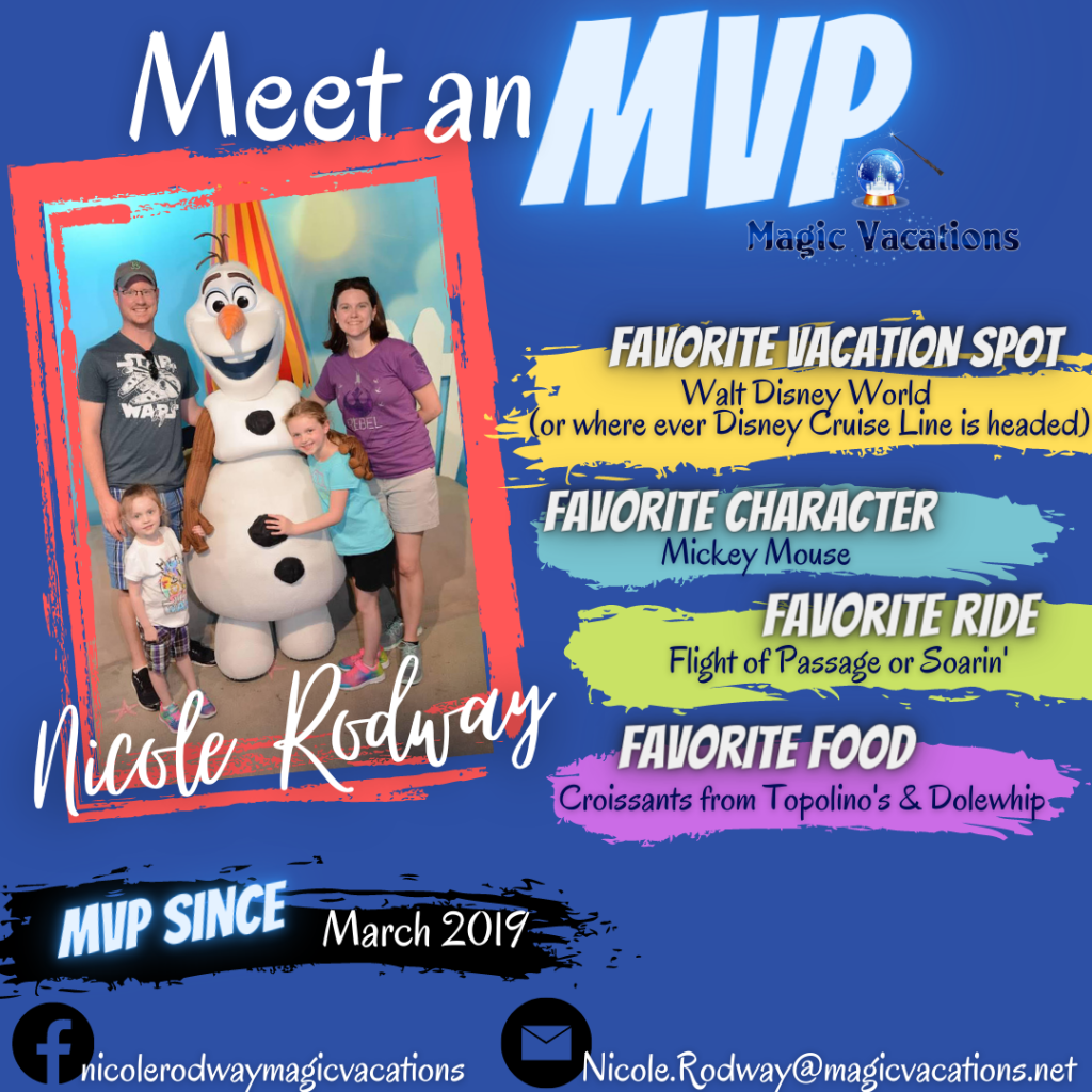 Nicole's meet an mvp infographic