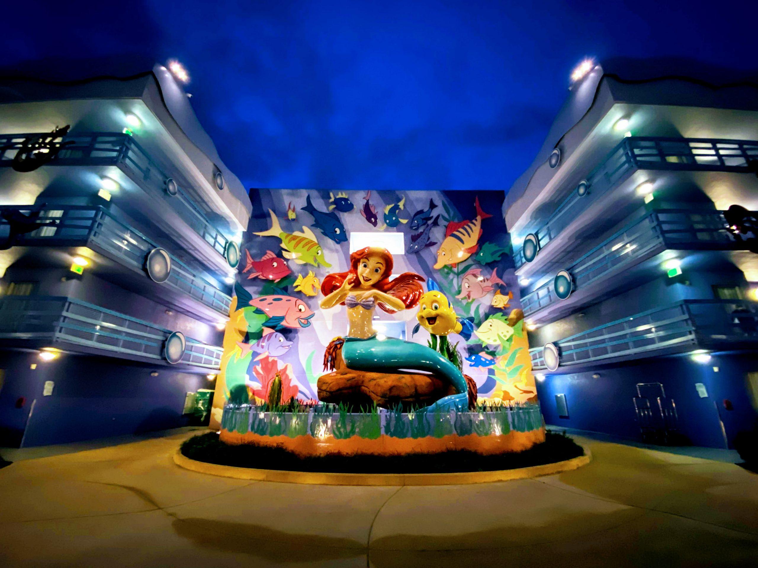 Ariel at Disney's Art of Animation