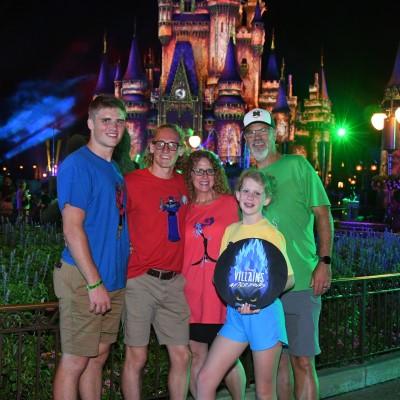 Thom Alvarez and his family