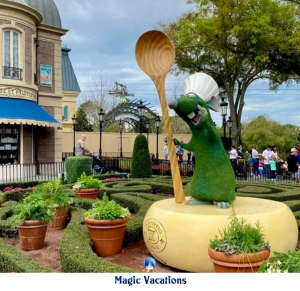 Remy topiary
