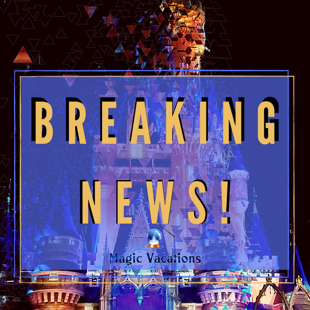 Walt Disney World Breaking News